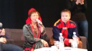 Kirste Palto ja Niklas Holmberg