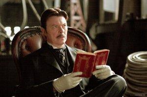 David Bowie Teslana The Prestige-Elokuvassa.